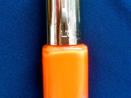 Nails of the Day: Lush Tangerine