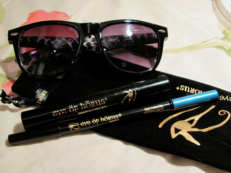 Review: Eye of Horus Goddess Mascara & Goddess Pencil in Teal Malachite