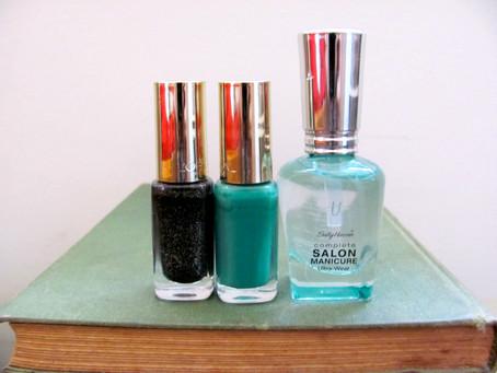 Nails of the Day: Black Diamond & Vendome Emerald