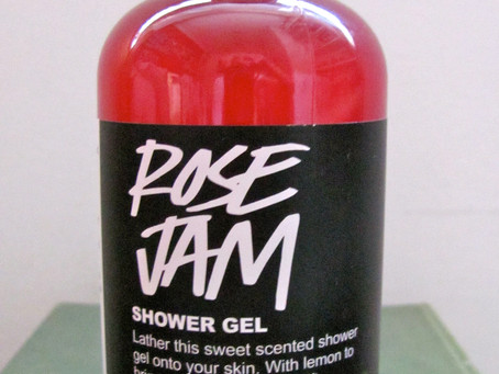 Roll Up! Roll Up! Lush's Rose Jam Shower Gel