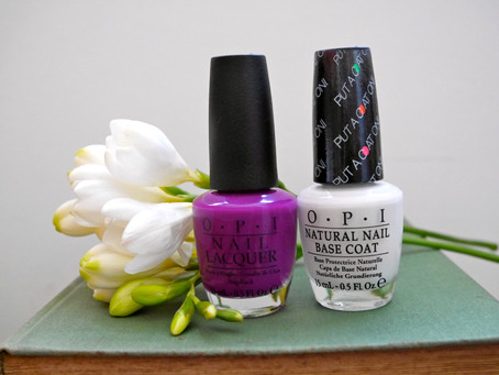 Nails of the Day: OPI's Push & Pur-Pull