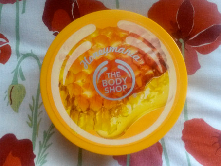 Review: the Body Shop's Honeymania  Body Butter