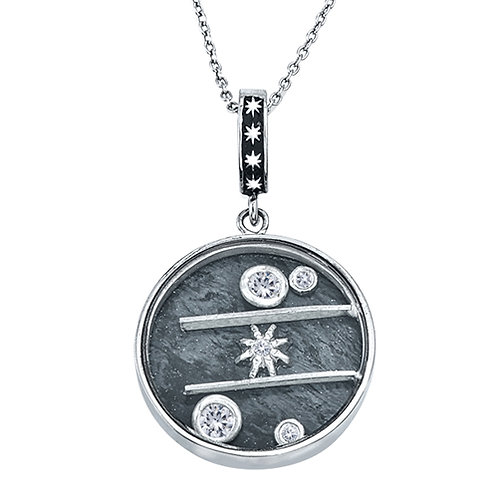 Sterling Silver Puzzle Pendnat