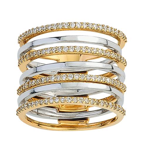 Diamond  puzzel Ring