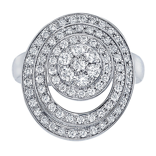 Pave Diamond Spinning Ring
