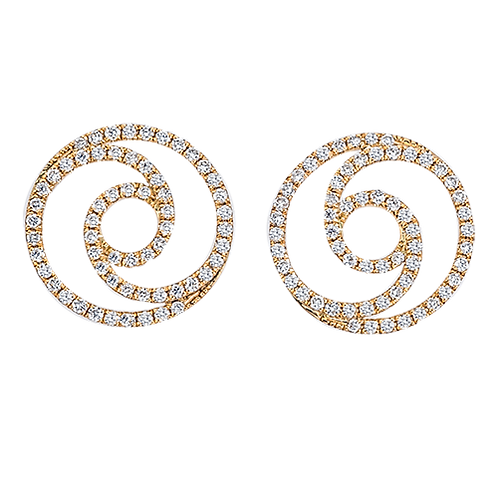 Eternity Swirl Earrings