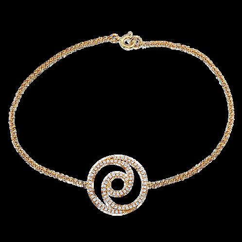 Eternity Swirl Bracelet