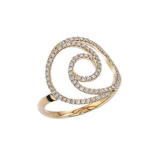 Eternity Swirl Ring