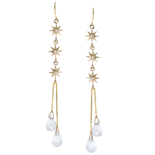 Moonstone Starz Earrings