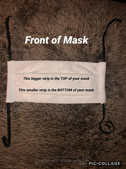 cloth mask with straw hole opening 7 fro