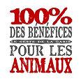 Logo_-_100%_des_bénéfices_pour_les_anima