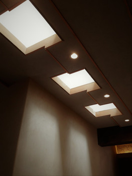 Tiered Ceiling Detail