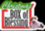 Christmas Box of Blessing for kids