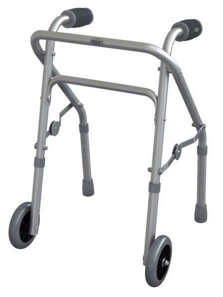 Andador de Alumínio Infantil com 2 rodas