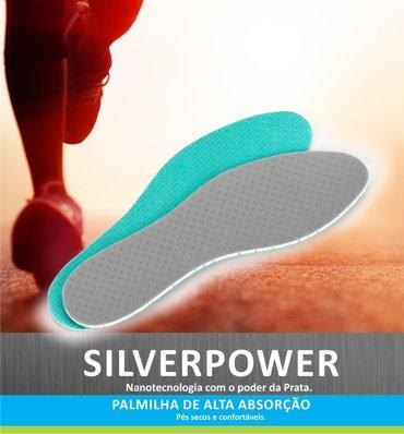 Palmilha Silverpower (nº40 ao 45) - Mr Step