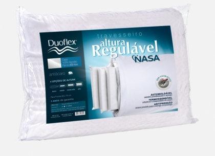 Travesseiro NASA c/ Altura Regulável - Duoflex