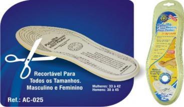 Palmilha Com Memória ViscoPauher - OrthoPauher