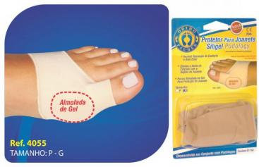 Protetor Para Joanete Siligel - OrthoPauher
