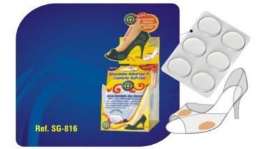 Almofadas Adesivas Conforto Softgel - OrthoPauher
