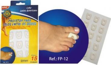Protetor Para Calos Entre Dedos - OrthoPauher