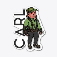Carl Cassidy Sticker