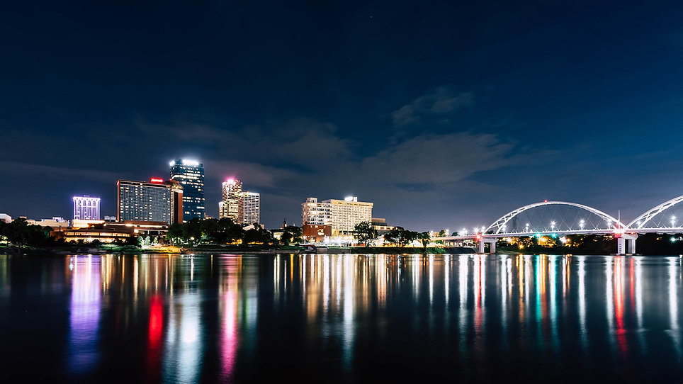 little rock by night
