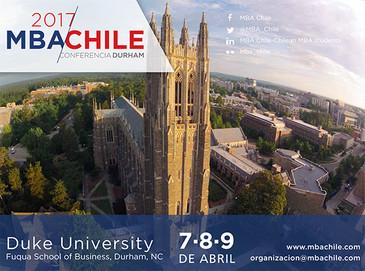 Confirmada fecha para la sexta version de MBA Chile