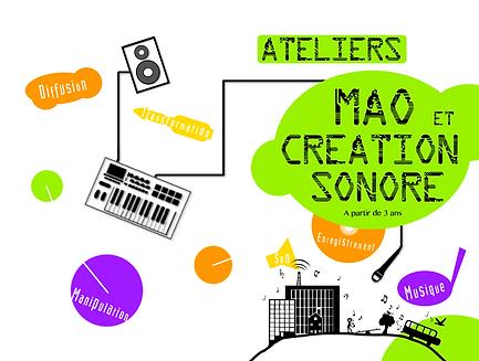 Ateliers MAO et création sonore - Toulouse