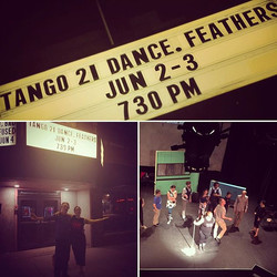 Our sunmer tour is off to a great start!#tango21dancetheater in #oakparkillinois tonight!!! One more