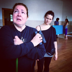 An #emotional #rehearsal with _roseguccione as Paloma & _thehillsite as Robin