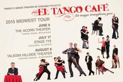 2015 El Tango Café Tour