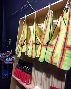 #backstage #props #feathersatangojourney #tango21dancetheater #safetyfirst #nextacttheatre #summerto