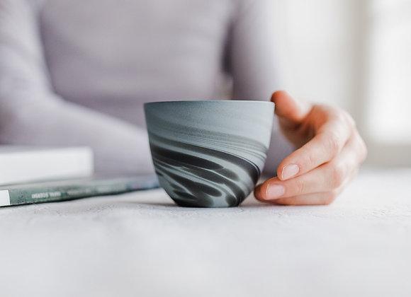 Smoke cup, denim blue - matt