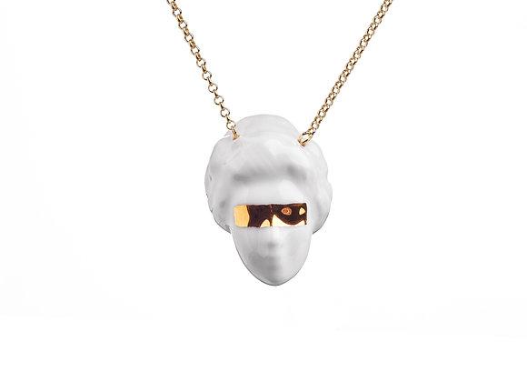 Lady Bitch necklace - gold