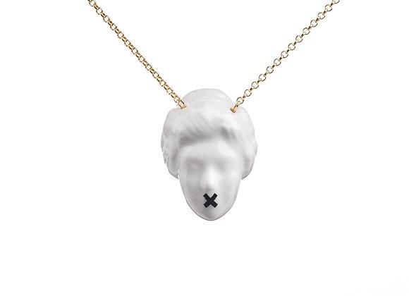 Lady Bitch necklace - cross