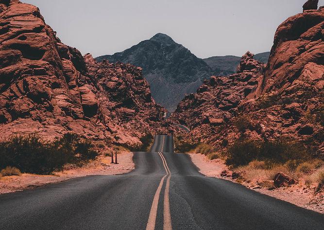 Wüsten-Straße
