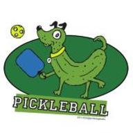 pickleball dog