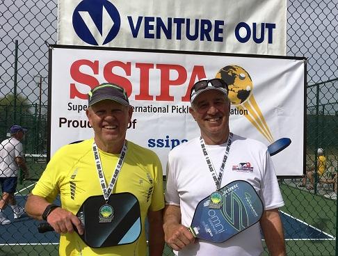 Pete Macksam and Steve Smitham, Venture Out, Mesa