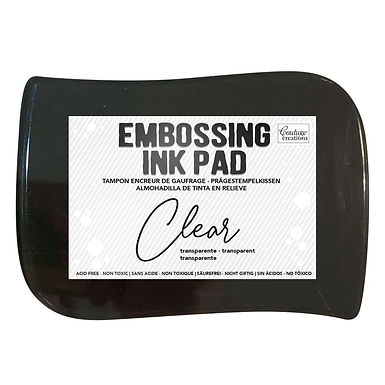 CLEAR EMBOSS PAD