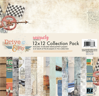 DRIVE & FLY PAPER PACK