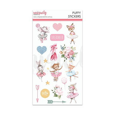 DREAMER PUFFY STICKERS