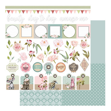 FLORAL TAGS & TITLES