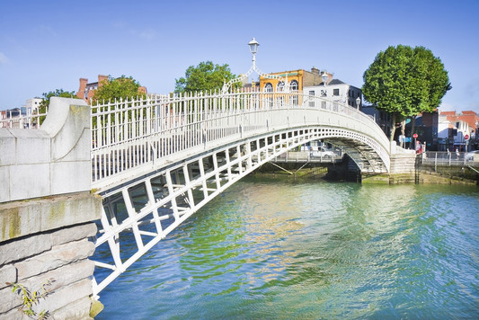 Dublin - Ha'ppeny Bridge