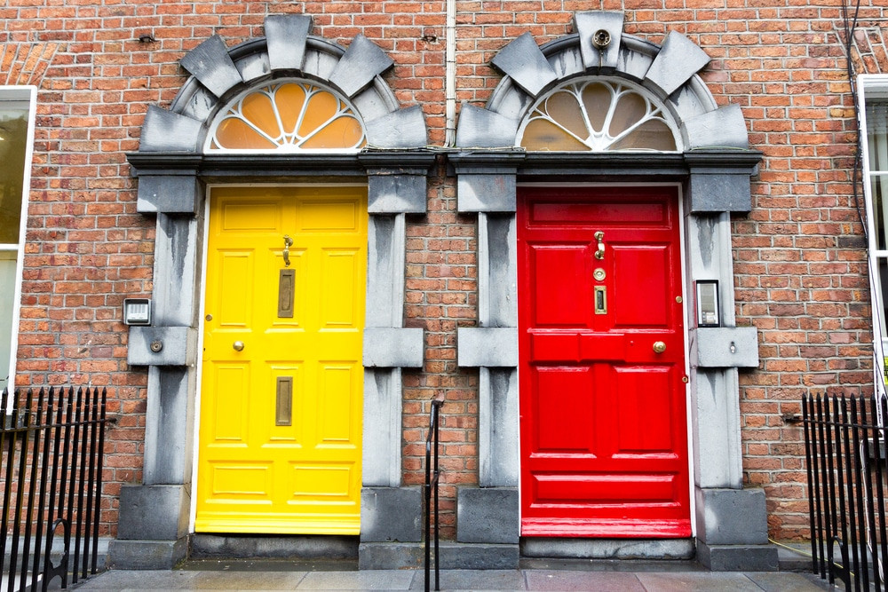 Dublin - Iconic doors