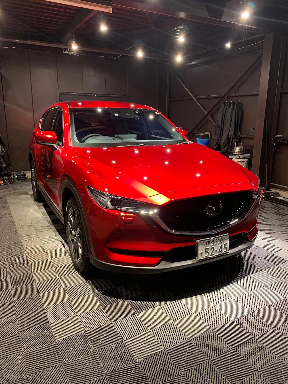 新車.マツダ.CX-5.コーティング.富士宮.富士