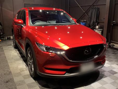 新車 マツダ CX-5 コーティング