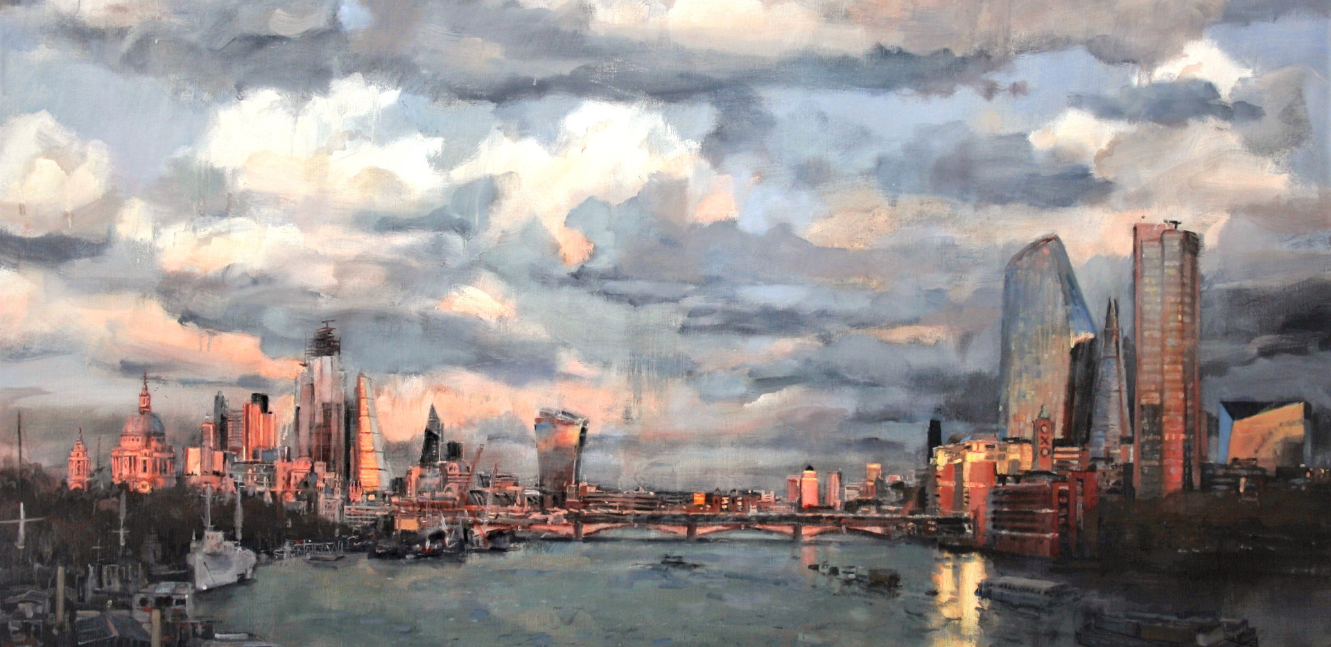View from Waterloo Bridge 2019
