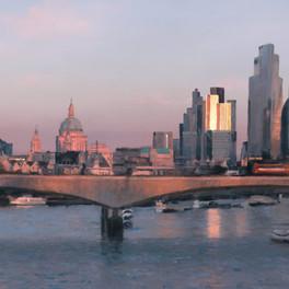 Detail - Waterloo Bridge 2020