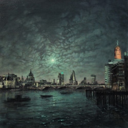 Gabriel's Wharf Nocturne
