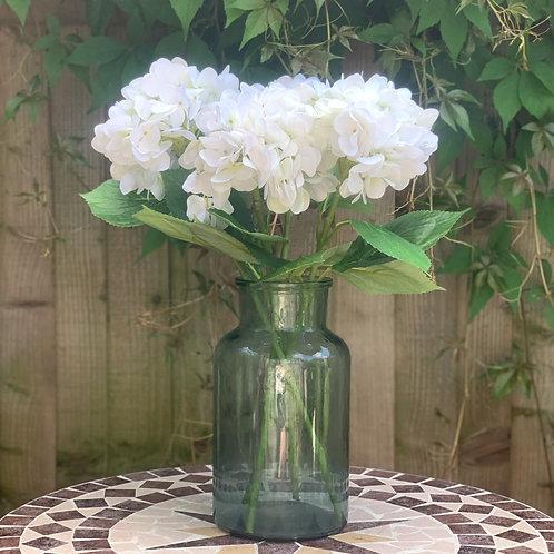 Large White Hydrangeas (set of 4)